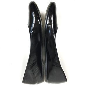 Eileen Fisher Shoes - EILEEN FISHER Black Patent Leather Flats